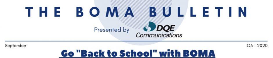 2020 Q3 BOMA Bulletin
