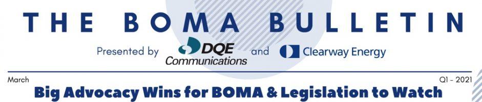 2021 Q1 BOMA Bulletin