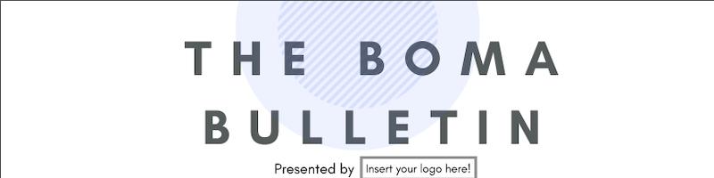 2019 Q1-Q3 BOMA Bulletin