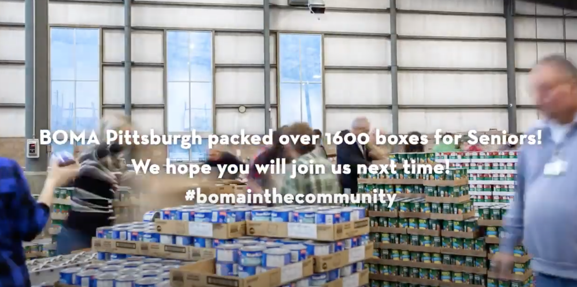 BOMA + Food Bank